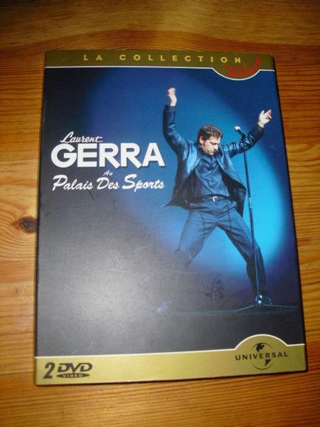coffret de 2 DVD LAURENT GERRA au palais des sports+BONUS 3 Lyon 5 (69)
