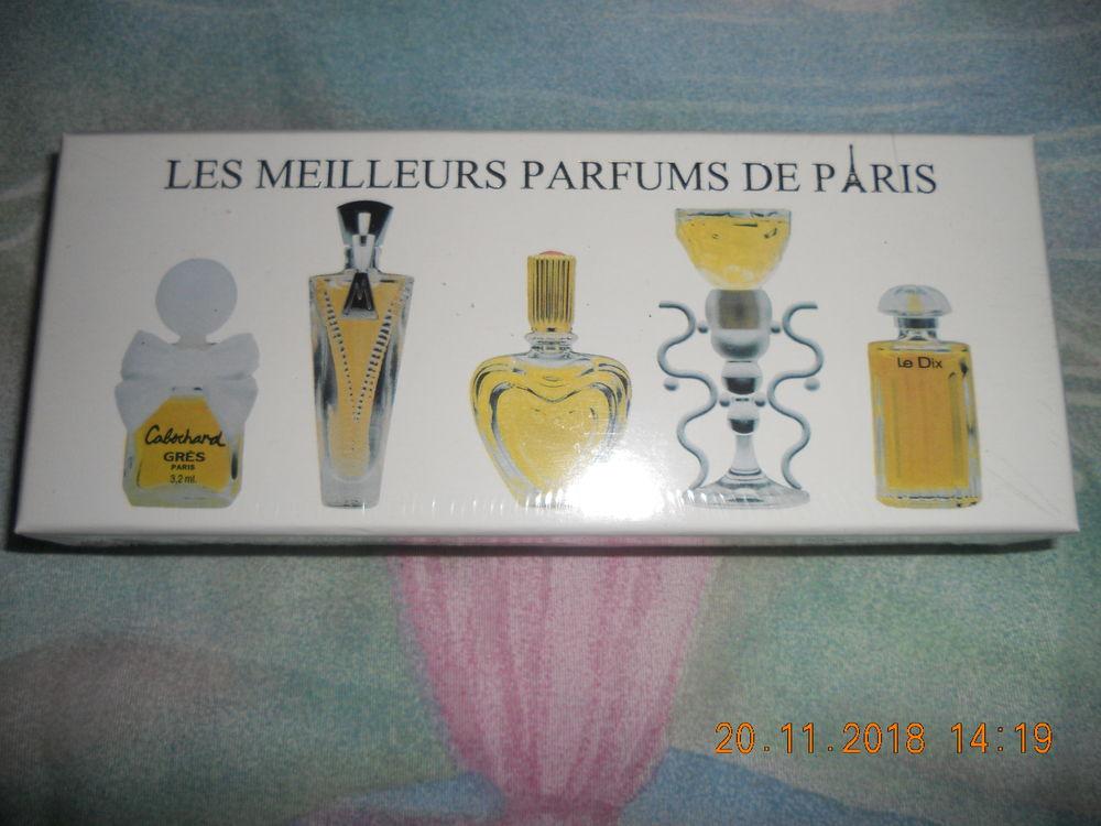 Coffret LES MEILLEURS PARFUMS DE PARIS - réf. ôme 10 Auxon (10)