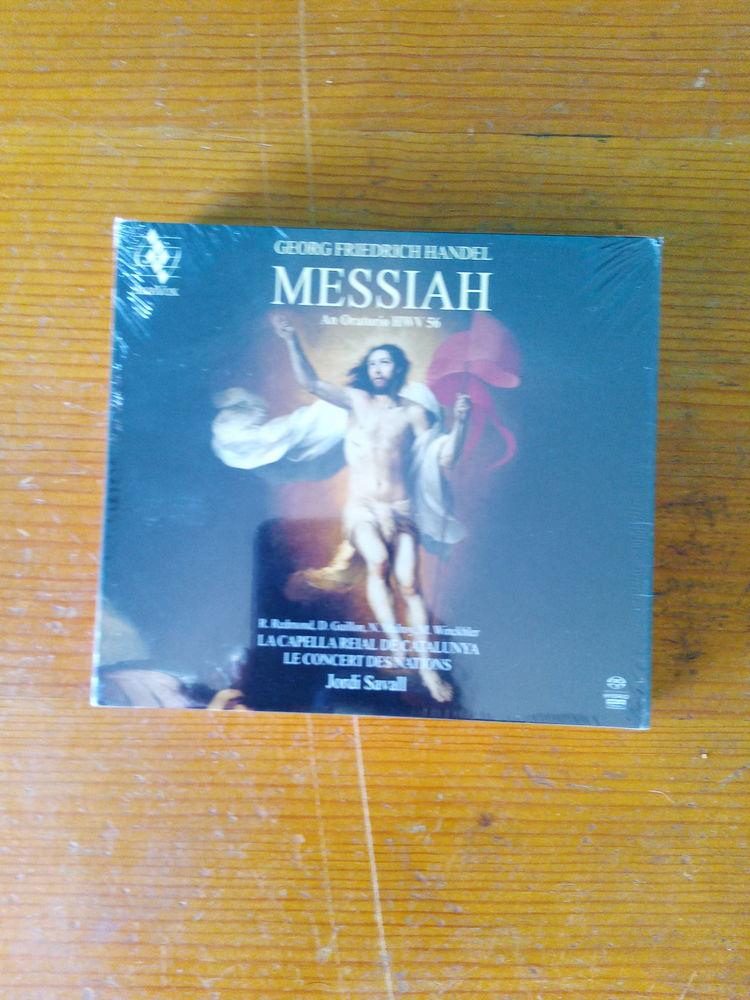 Coffret CD Messiah An Oratorio HWV 56 (Neuf) 28 Ardoix (07)
