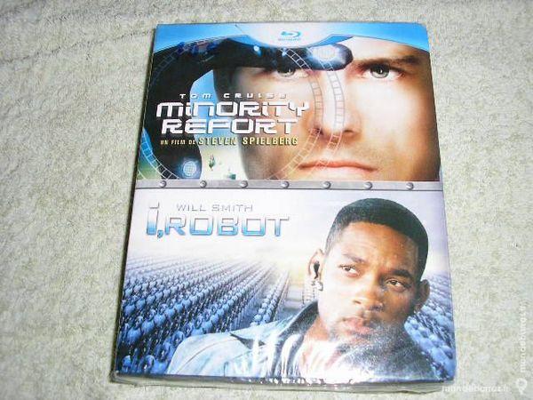 coffret blu-ray ,minority report et I robot 10 Clermont (60)