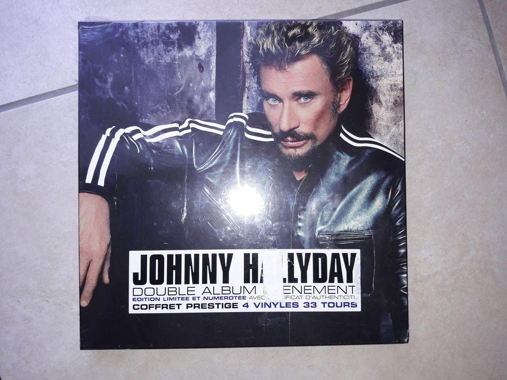 COFFRET A LA VIE A la MORT 4 LP J-HALLYDAY NEUF et SCELLE 63 Decazeville (12)