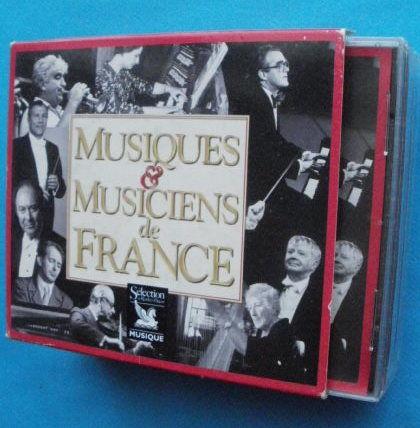 Coffret 5 CD Musiques et musiciens de France 10 Montauban (82)