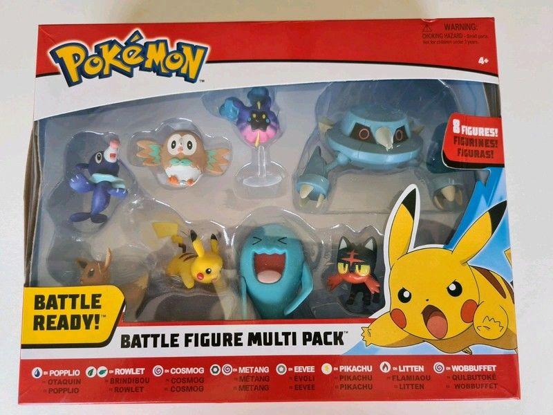 Coffret neuf de 8 Figurines Pokemon 32 Saint-Dié-des-Vosges (88)