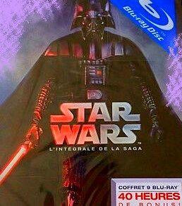 coffret neuf (sous plastique) 9 blu-ray STAR WARS 80 Grenoble (38)