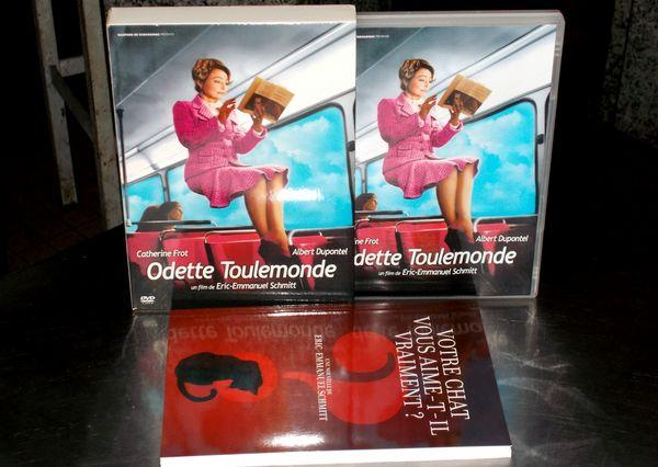 coffret dvd odette toulemonde avec Catherine frot 10 Monflanquin (47)