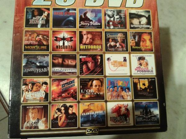 coffret orange de 25 films( delta66 ) 20 Toulouges (66)