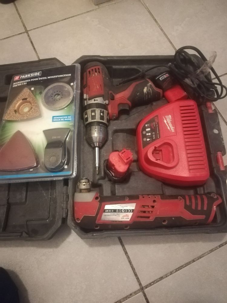 Coffret d'outils complet Milwaukee  125 Marseille 4 (13)