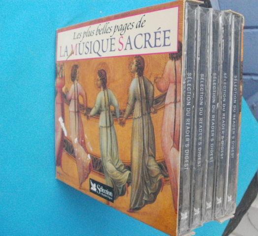 Coffret 5 CD Les plus belles pages de la MUSIQUE SACREE 10 Montauban (82)