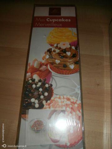 coffret pour cupcakes neuf
