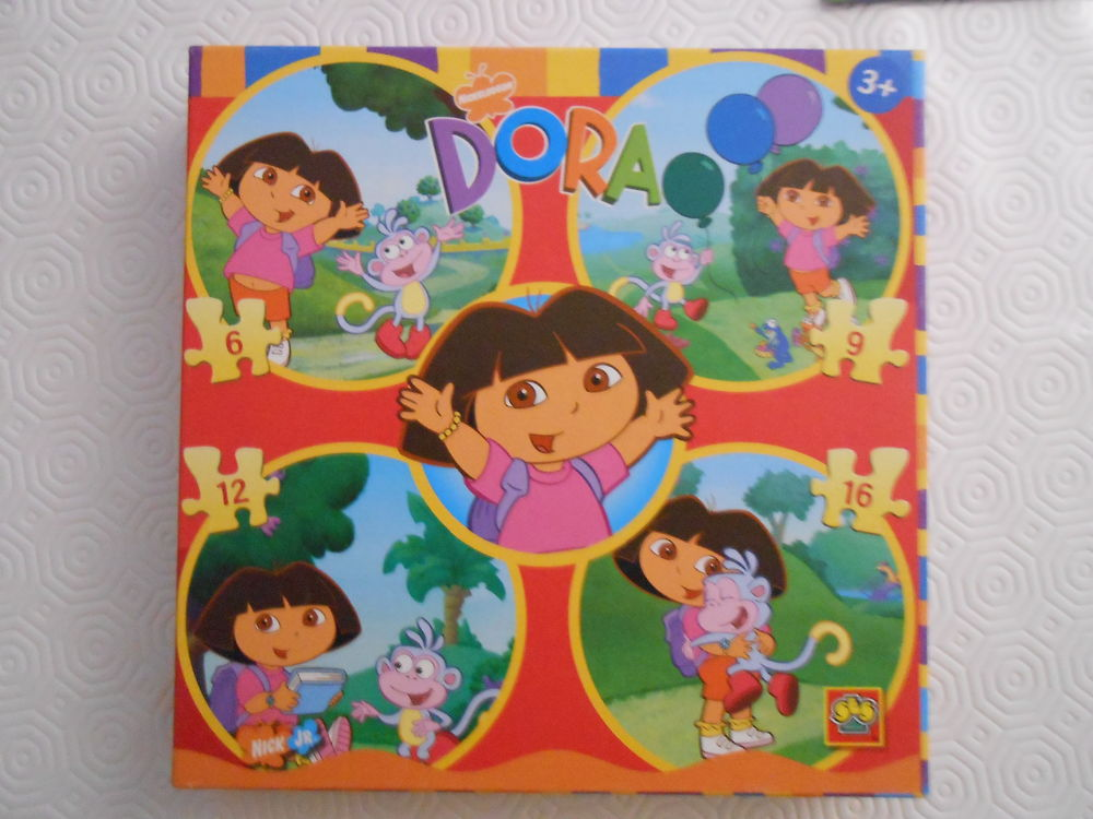 Coffret 4 puzzles enfants Dora dès 3 ans 3 Aurillac (15)