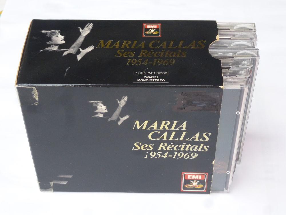 Coffret de sept C.D. de Maria CALAS Audio et hifi