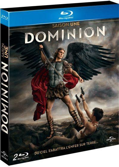 Coffret de 2 blu-ray série  DOMINION  saison une 10 Ervy-le-Châtel (10)