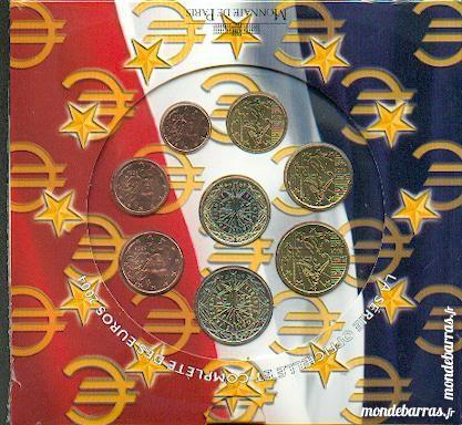 coffret série officielle des euros de 2004 45 Artagnan (65)