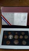 Coffret série de pièces Monnaie de Paris 1999 100 Nantes (44)