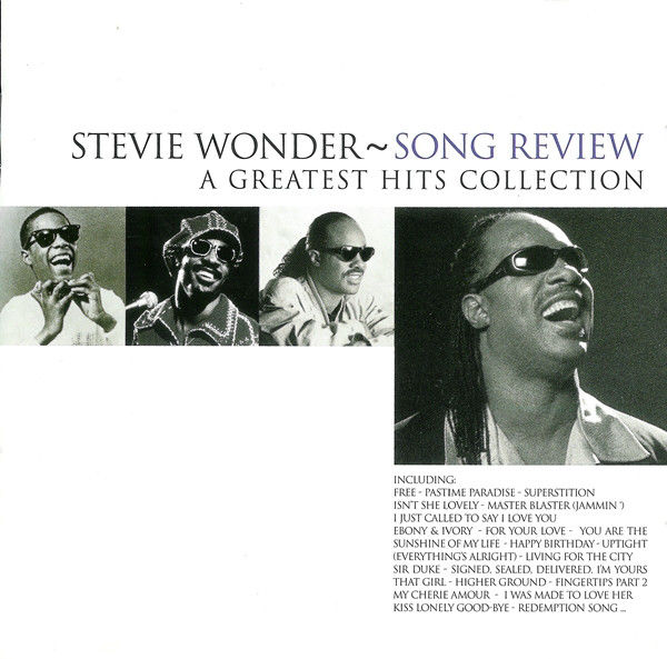 coffret 2 cd Stevie Wonder  Song Review / A Greatest Hits Co 10 Martigues (13)