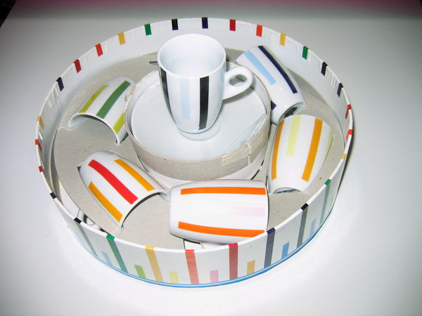 Coffret 6 tasses à café en porcelaine. 7 Mont-Saint-Aignan (76)