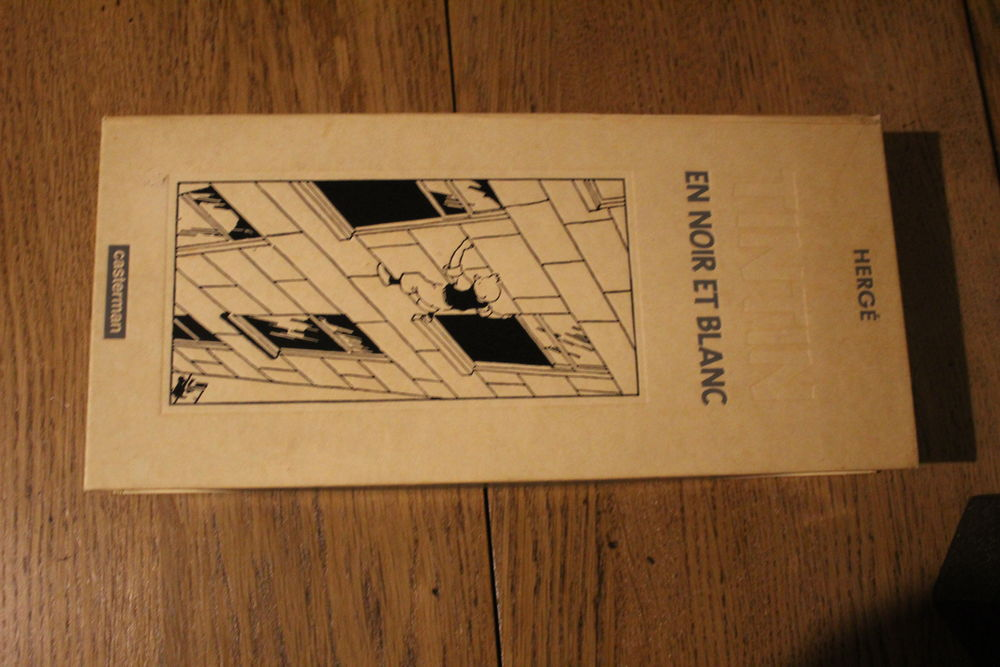Coffret Tintin en noir et blanc - 9 volumes 10x13 collection 0 Vandœuvre-lès-Nancy (54)