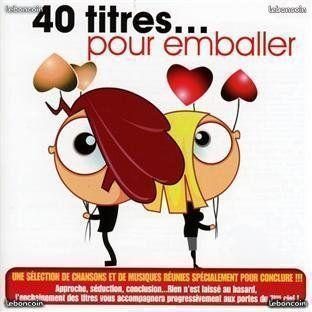 coffret 2 cd 40 Titres... Pour Emballer 4 Martigues (13)