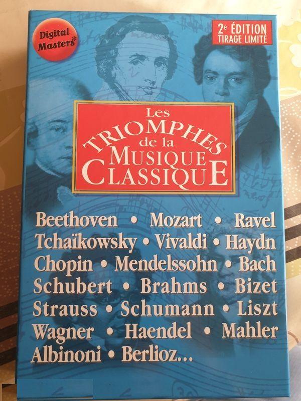 Coffret les triomphes de la musique classique 15 Beauchamp (95)