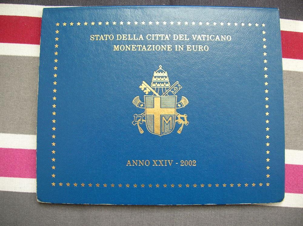 coffret Vatican 2002, 8 pièces, neuf 515 Reims (51)