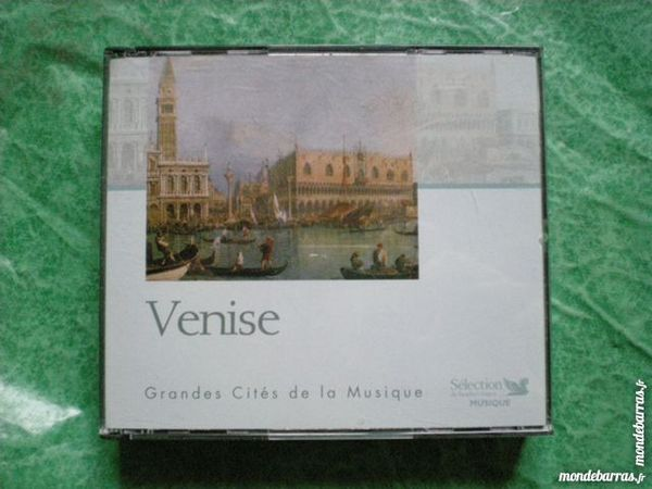 coffret 3 CD    Venise grandes cités de la musique  10 Saleilles (66)