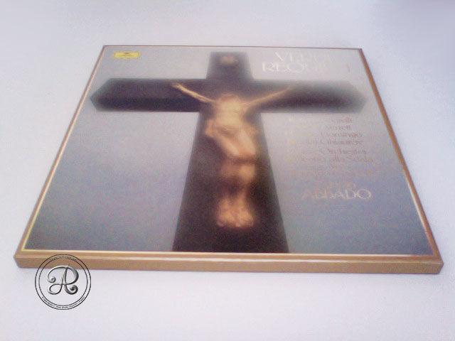Coffret de Verdi Le REQUIEM. CD et vinyles