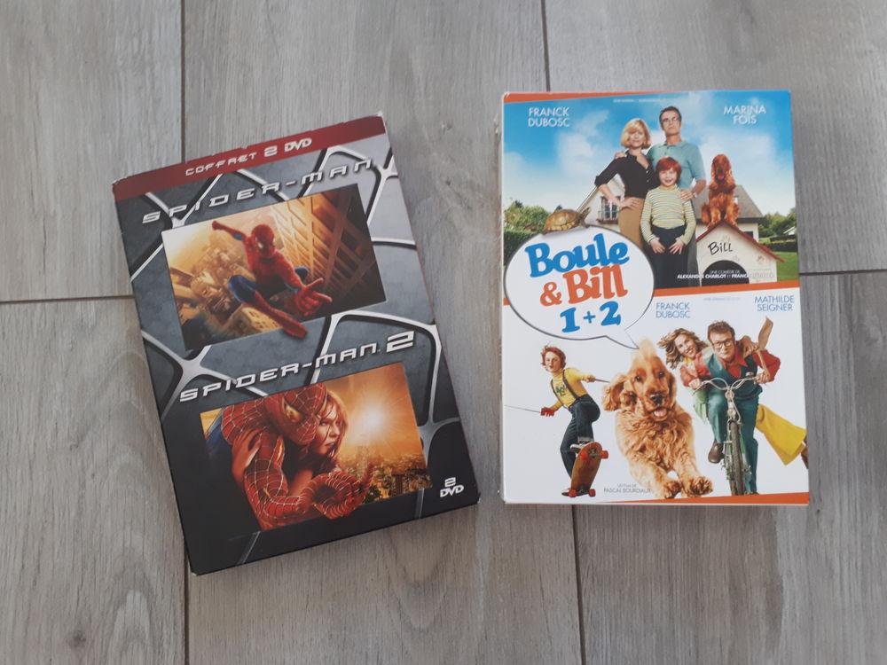 Coffrets DVD Boule & Bill et Spider-man 10 Cergy (95)