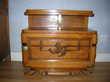 coiffeuse+ petit meuble+ machine à coudre anciennes chêne Meubles