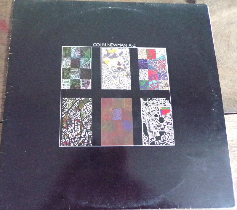 Colin Newman A-Z vinyle disque  16 Laval (53)