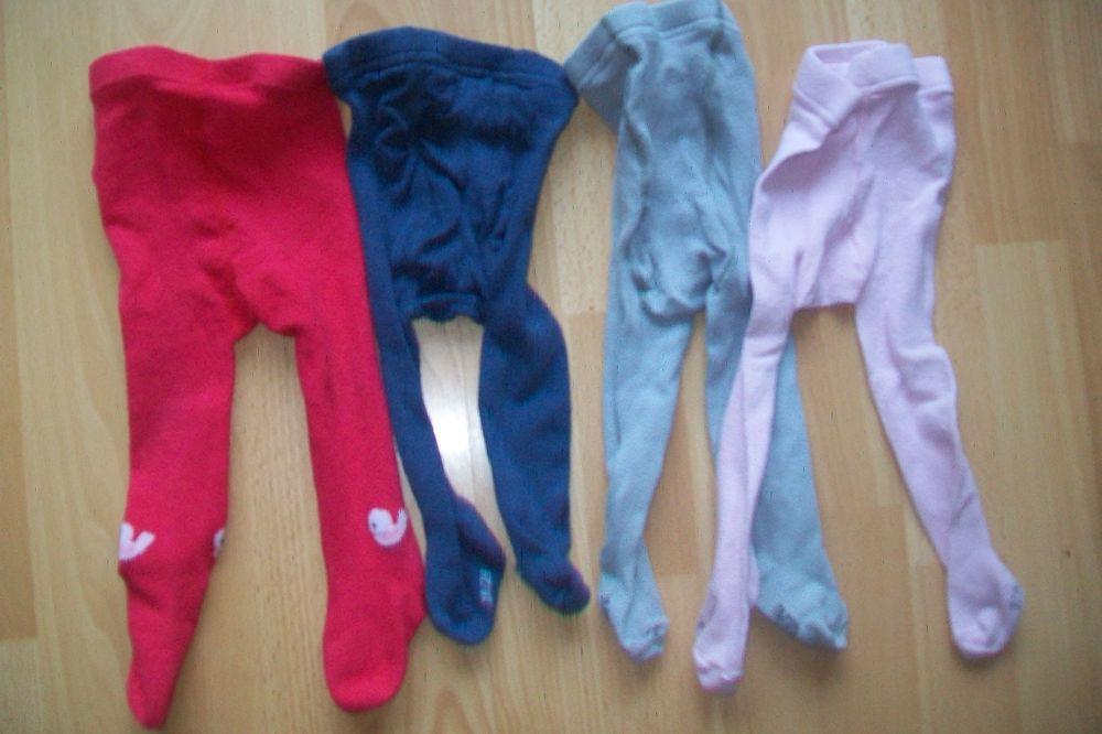 lot de 4 collants:18/20 pour 6/12 mois