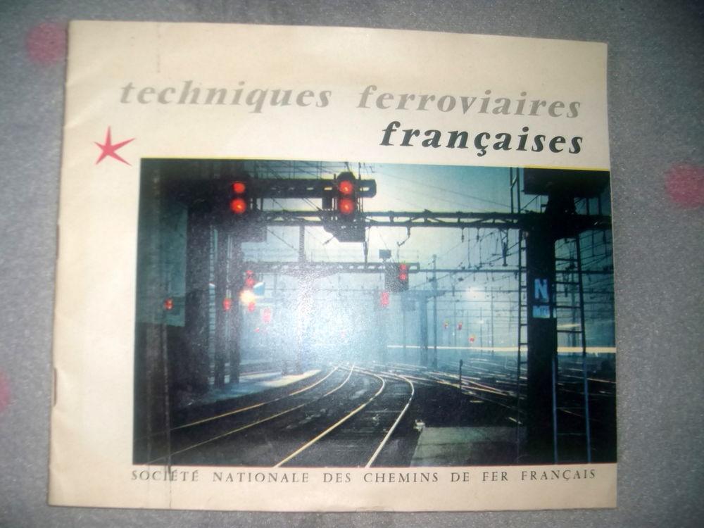 COLLECTION 1958 * SNCF techniques ferroviaires françaises 18 Chalon-sur-Saône (71)