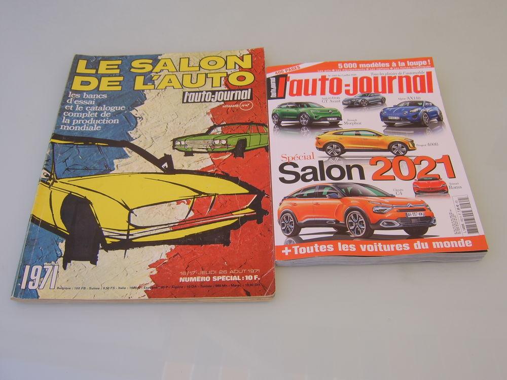 Collection auto journal 1971 à 2021 0 Romagnat (63)