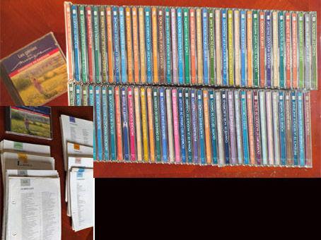 Collection de 80 cd's avec fascicules + range Cd'S        80 Linselles (59)