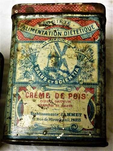 Collection :Boites Anciennes fer  10 Saint-Médard-en-Jalles (33)