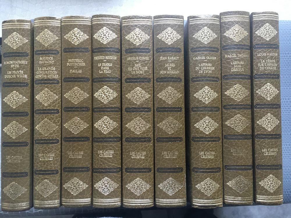 """Collection """" Les Causes Célèbres"""" Livres et BD"""