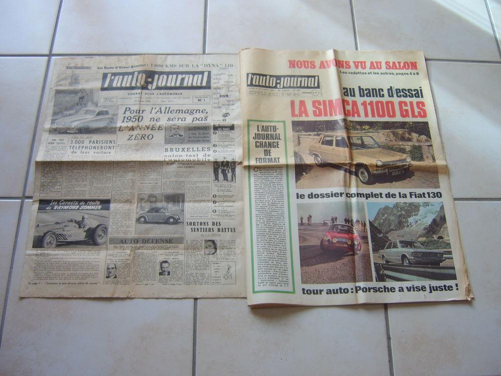 Collection complète  journaux vintage de l'Auto-Journal  1 Romagnat (63)