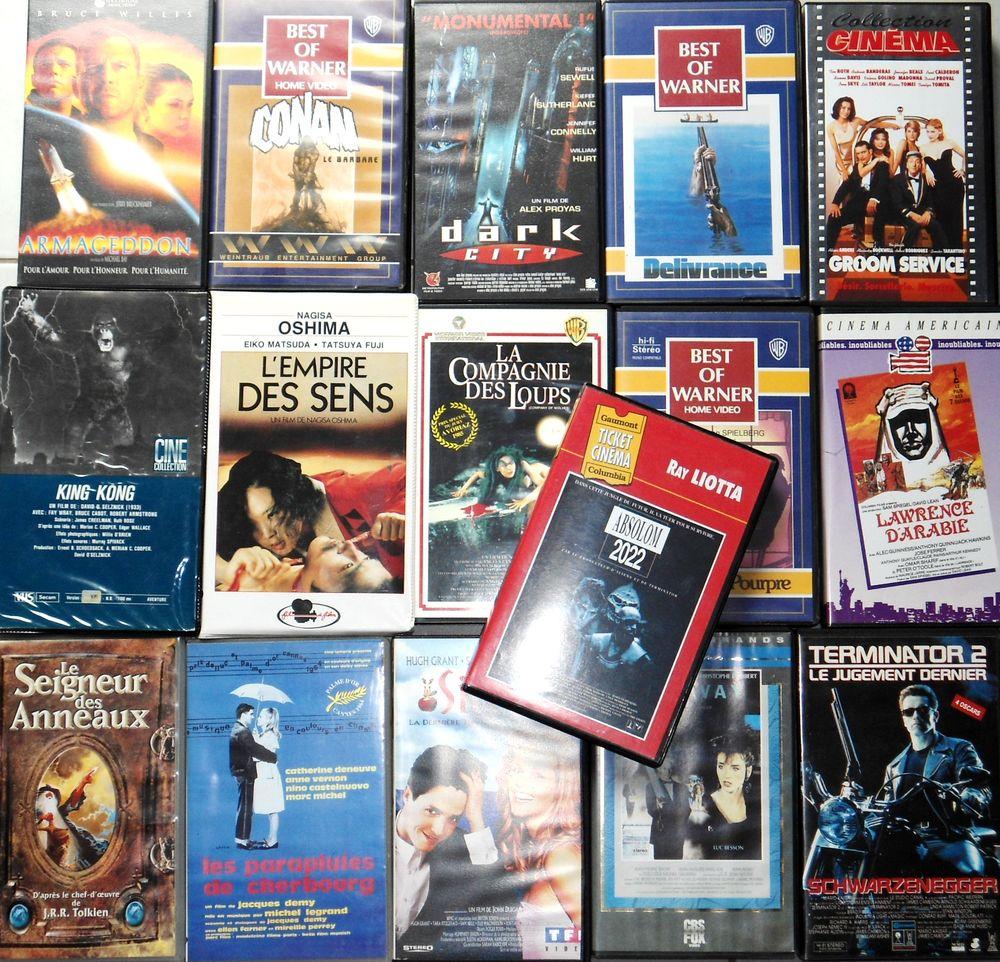 Lot 13 VHS de collection ou au détail 0 Roffey (89)