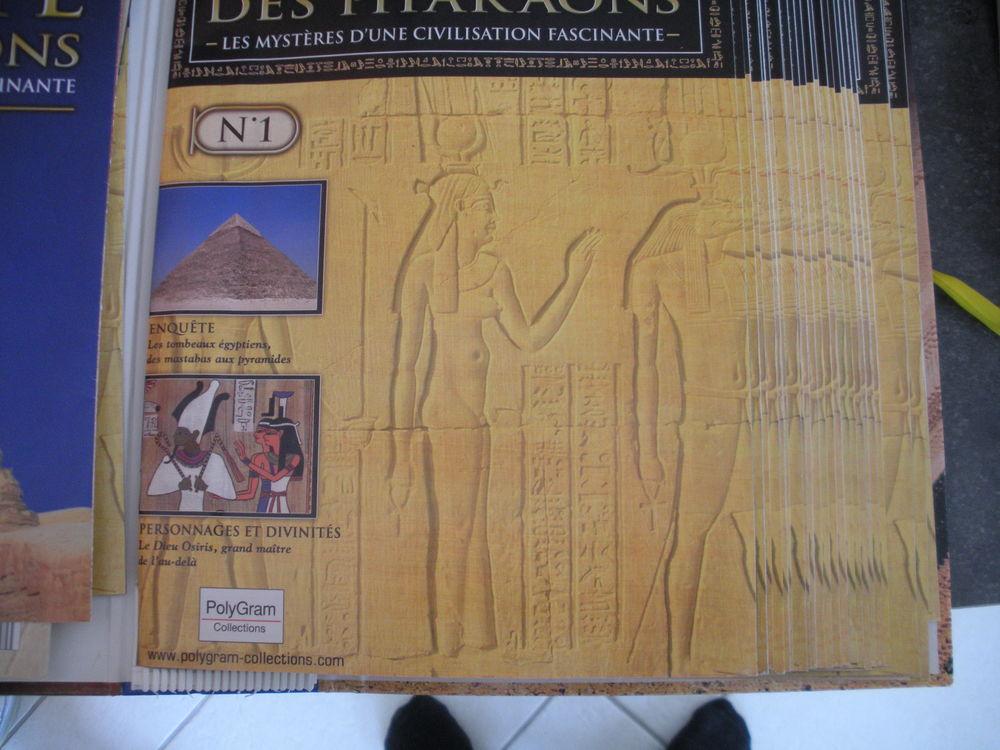 DVD de collection l'Egypte des Pharaons 50 Savigné-sur-Lathan (37)