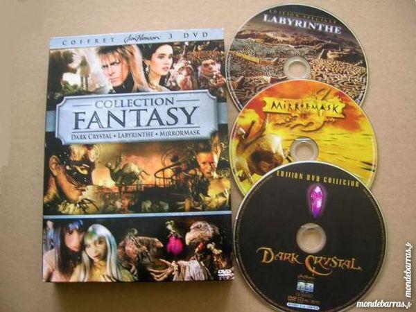 3 DVD Collection FANTASY(LABYRINTHE/DARK CRYSTAL/MIRRORMASK) 45 Nantes (44)