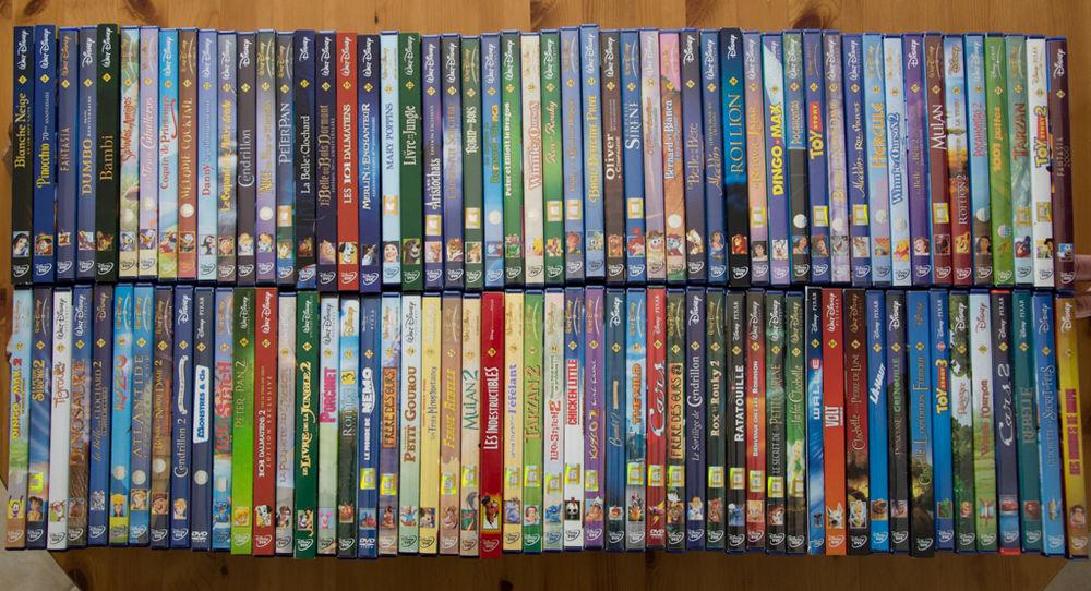 Collection DVD FILMS ET DESSINS ANIMES DISNEY 5 Nantes (44)