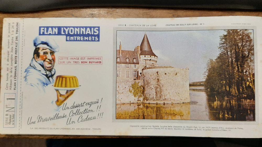 collection Flan Lyonnais les Chateaux de la Loire  de 1 à 24 0 Bois-d'Arcy (78)