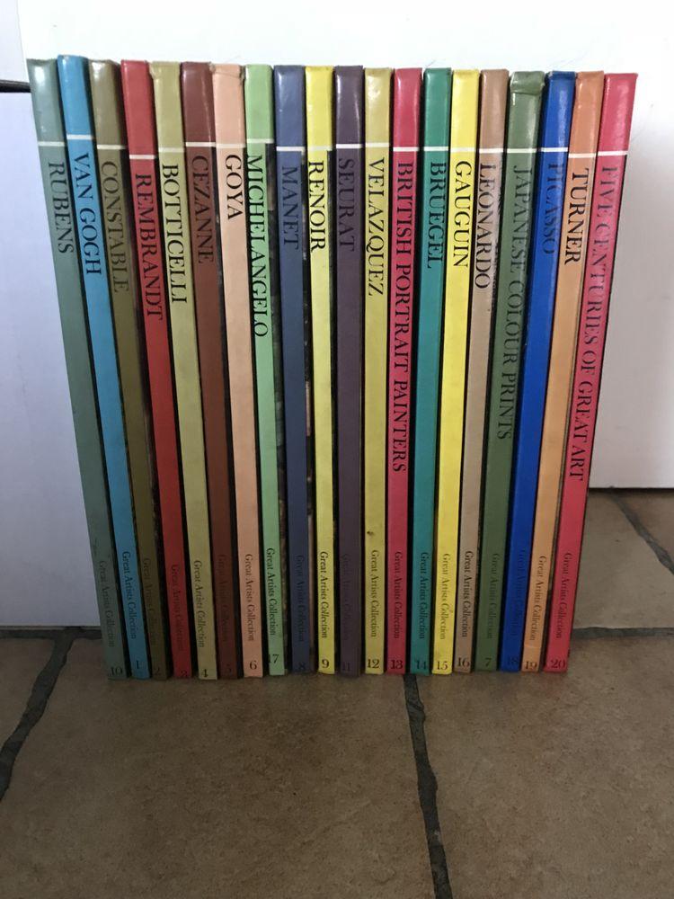 Collection  les grands peintres  60 Annemasse (74)