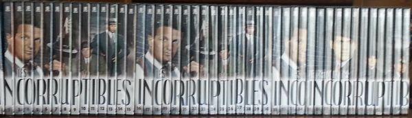 Collection intégrale des Incorruptibles 46 DVD 500 Lyon 3 (69)