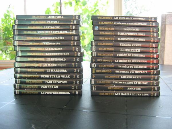 Collection 22 DVD de Jean Paul BELMONDO 220 Le Vernois (39)