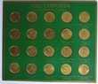 Collection Jetons et présentoir publicitaire Total 1970