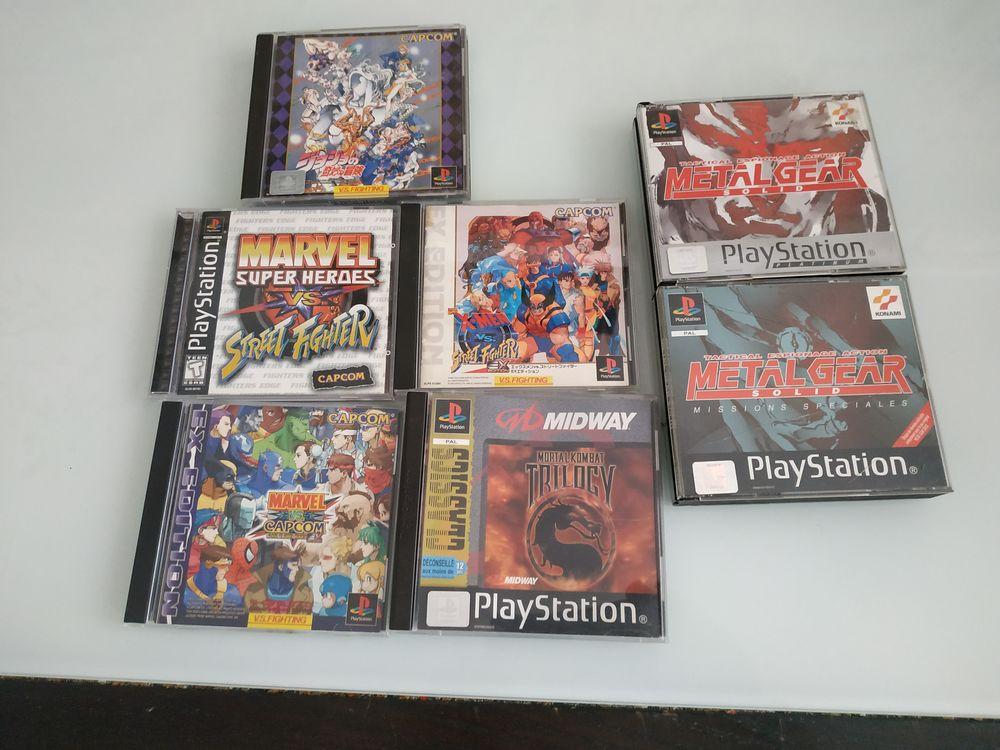Lot collection jeux rare ps1 0 Paris 17 (75)