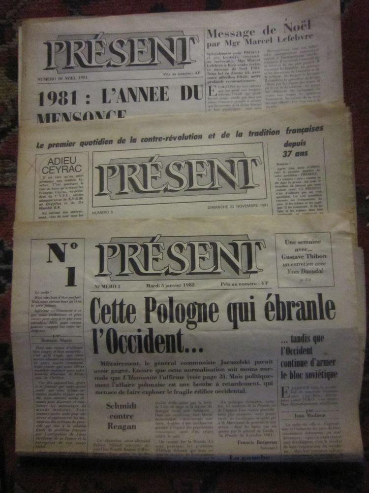 Collection d'un journal quotidien 0 Peyrolles-en-Provence (13)