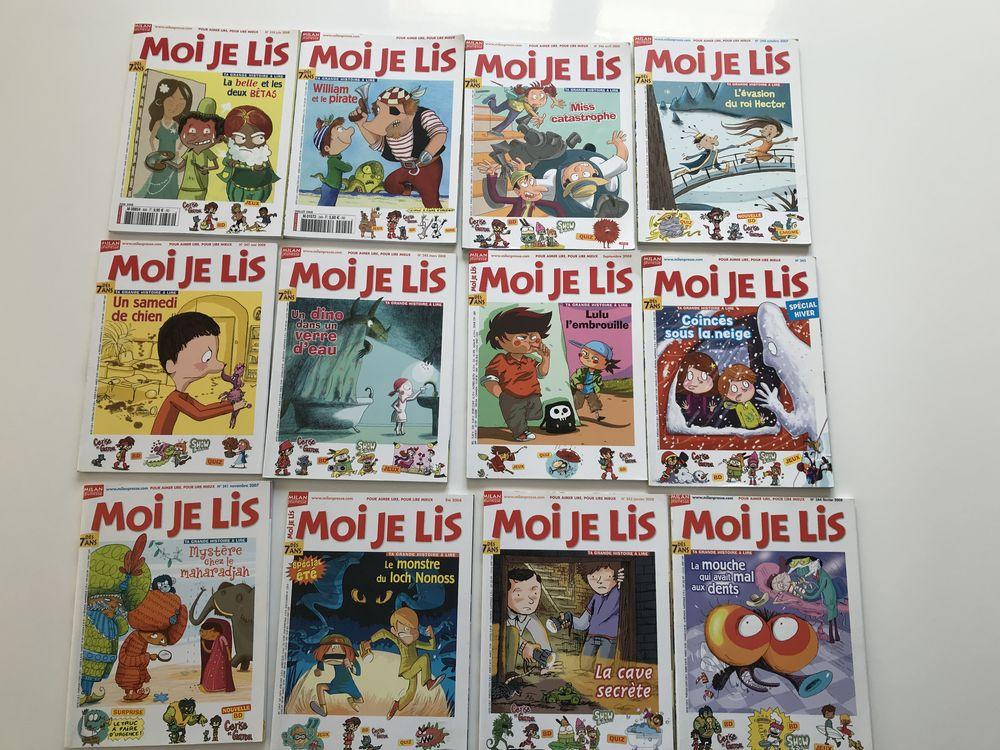 Collection  moi je lis  le lot de 12 livres comme neufs 22 Saint-Aubin (40)