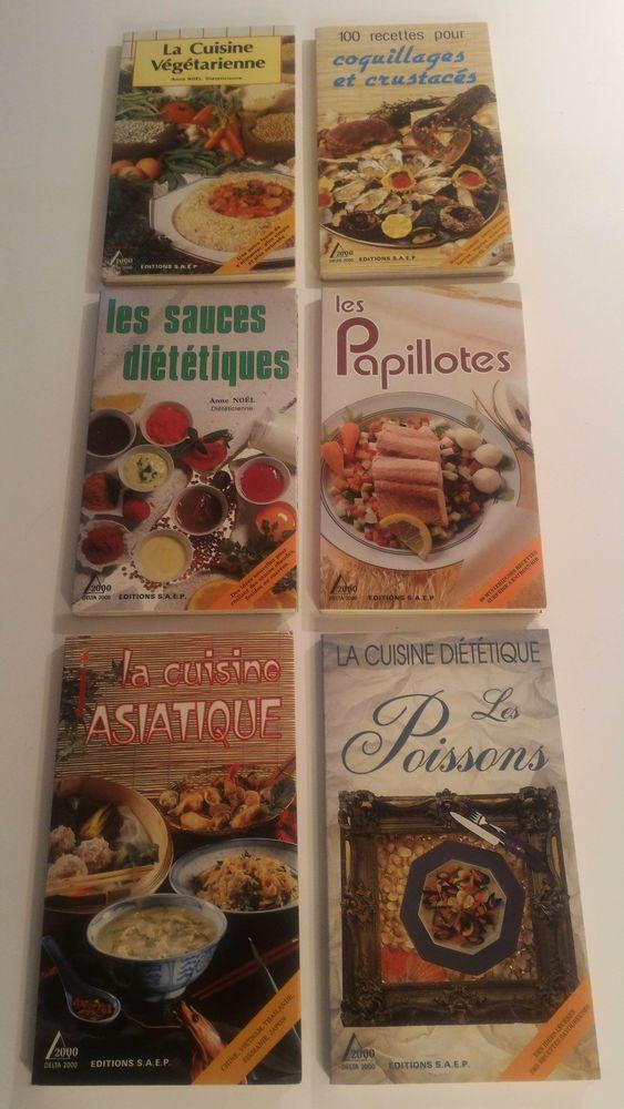 Collection livres de cuisine Éditions S.A.E.P 5 Paris 12 (75)