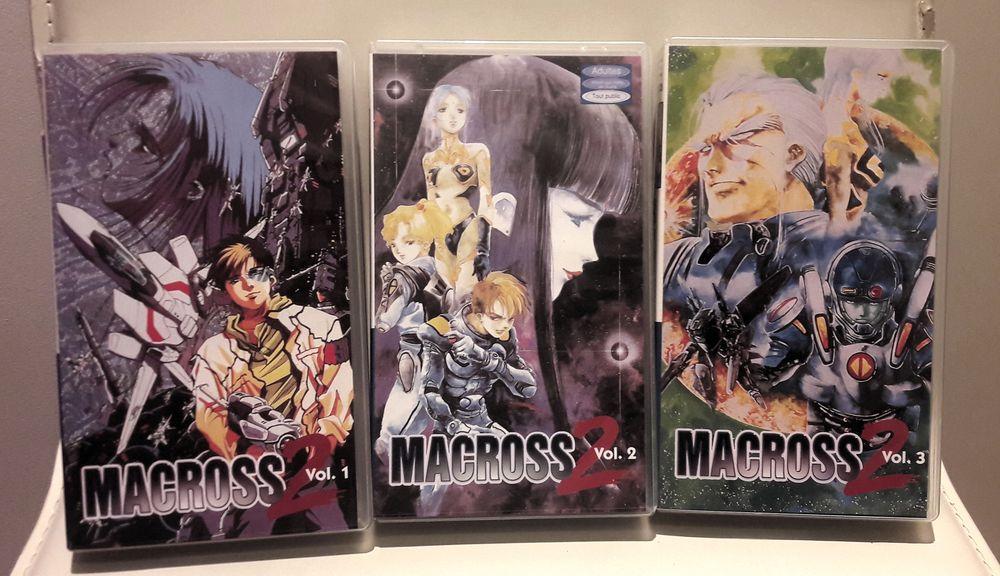 Collection MACROSS 2 en version VHS  5 Saint-Clément (89)